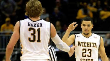 Ron Baker and Fred VanVleet. Photo via The Sporting News.