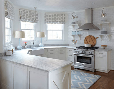 Beyond color: 5 Popular shades of white granite on Farmhouse Granite Countertops  id=57689