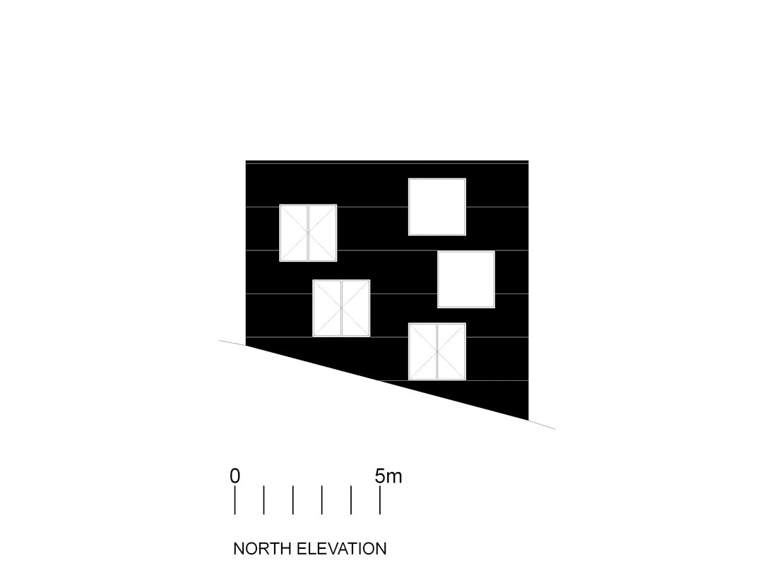 poli-elev-n north facade