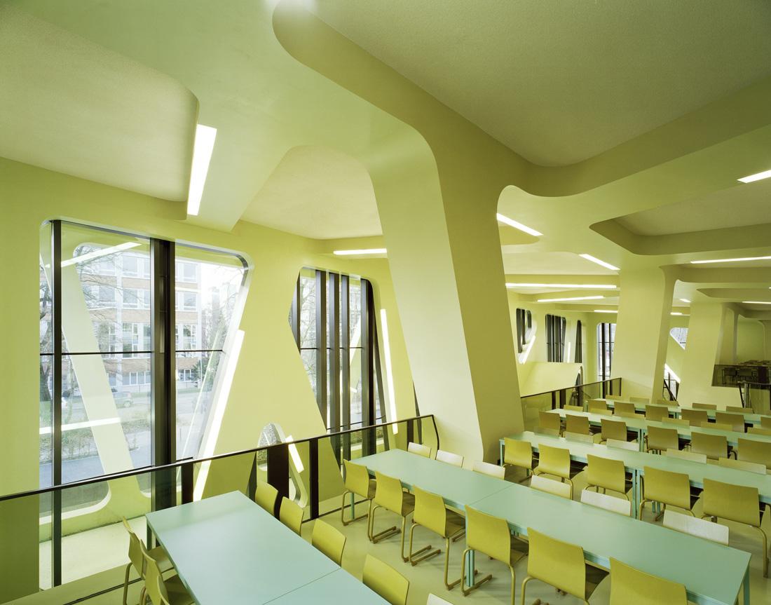 Mensa Moltke, Jurgen Mayer H. Architects
