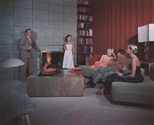 Spencer Residence, 1950 Santa Monica, CA / Richard Spencer, architect  © Julius Schulman