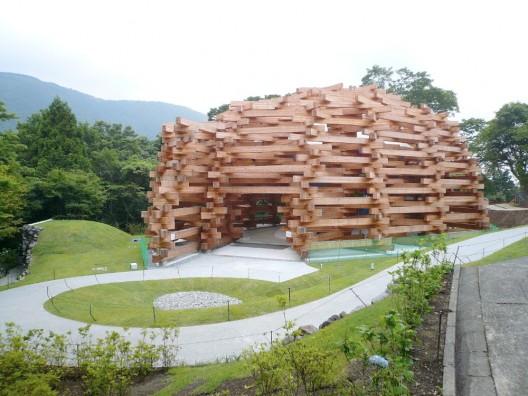 Woods of Net / Tezuka Architects / TIS & PARTNERS, photo by Abel Erazo