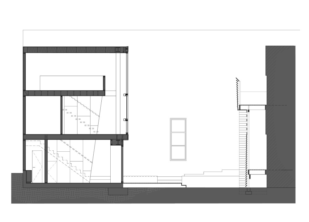 Powell_Facade-Section section