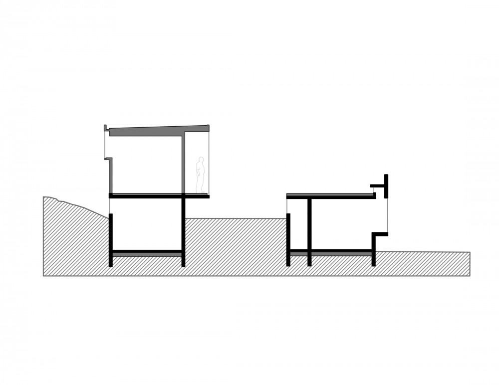 Los Molles House - Oltmann Ahlers W. - Oltmann Ahlers G. - dRN Arquitectos section F