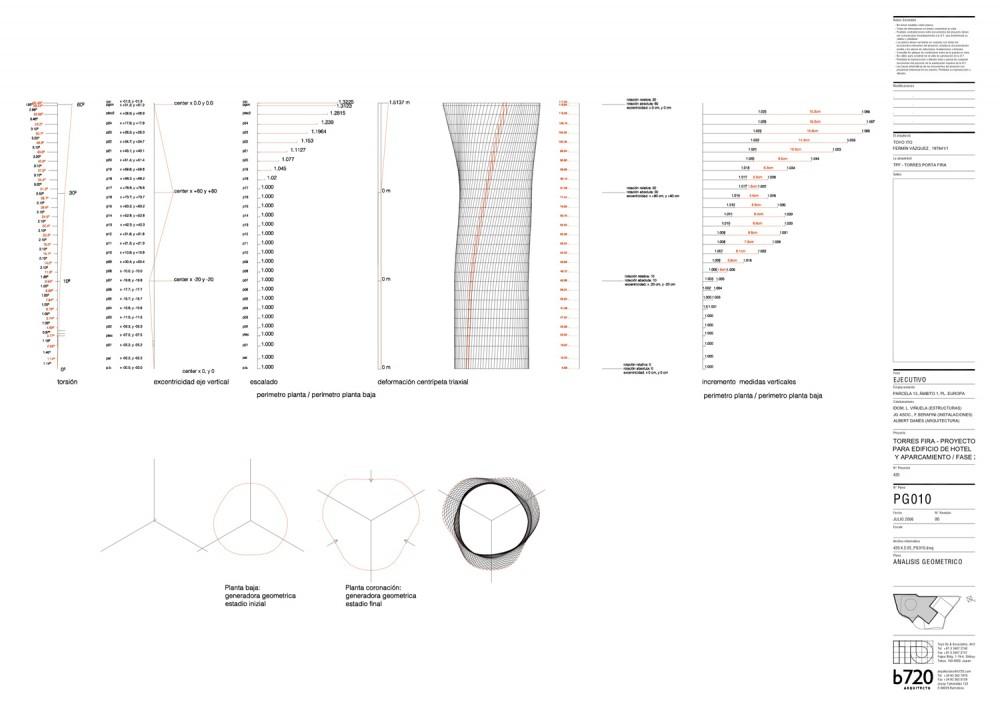 hotel geometría hotel tower diagrams