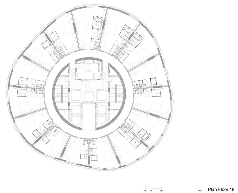 hotel plantas-1 hotel tower floor plan 2