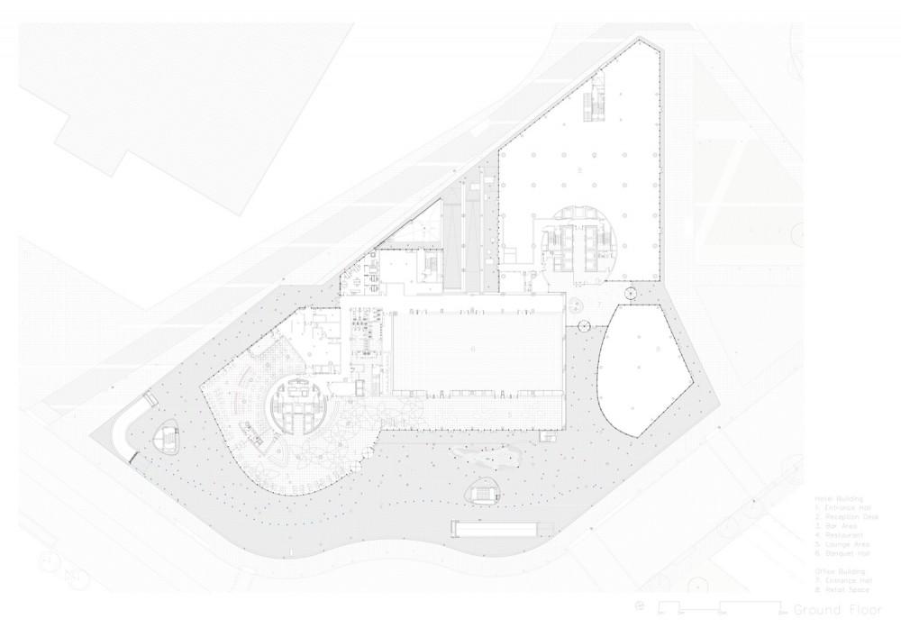 planta de acceso floor plan
