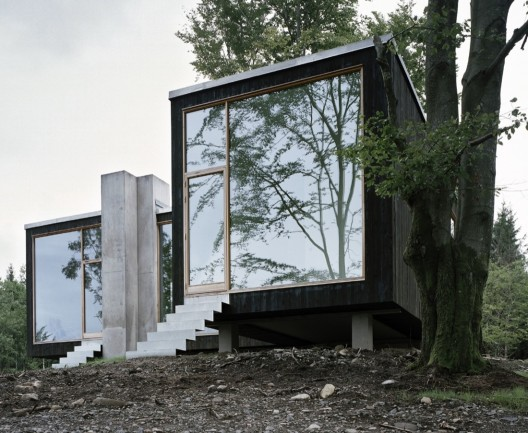 Refugium of a Forester / Petra Gipp Arkitektur © Björn Lofterud