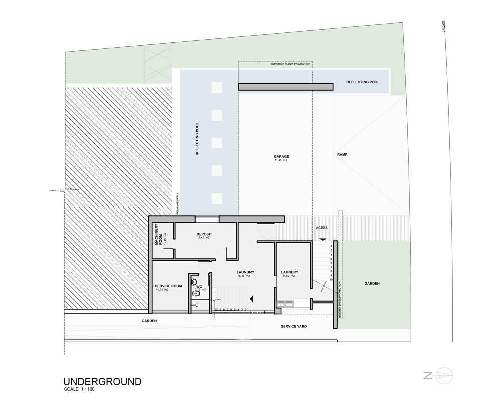 underground floor plan underground floor plan