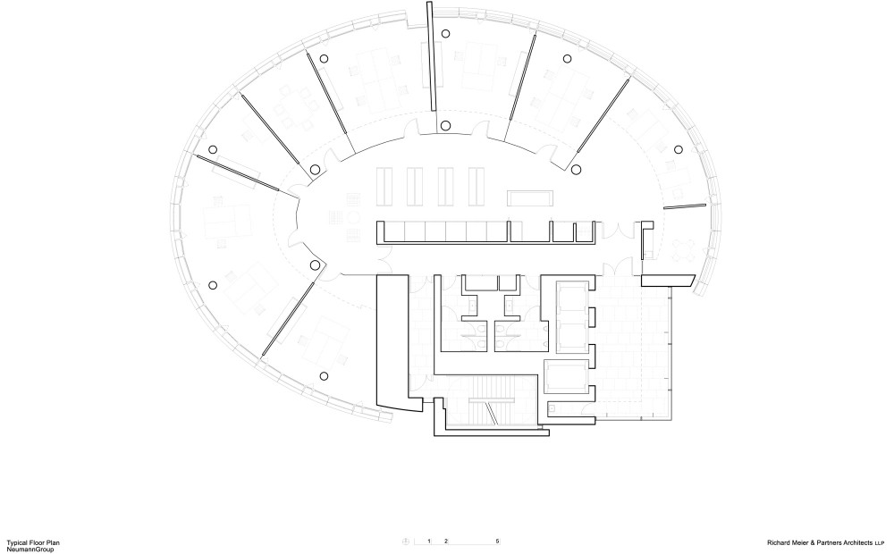 International Coffee Plaza / Richard Meier & Partners (16) plan 02