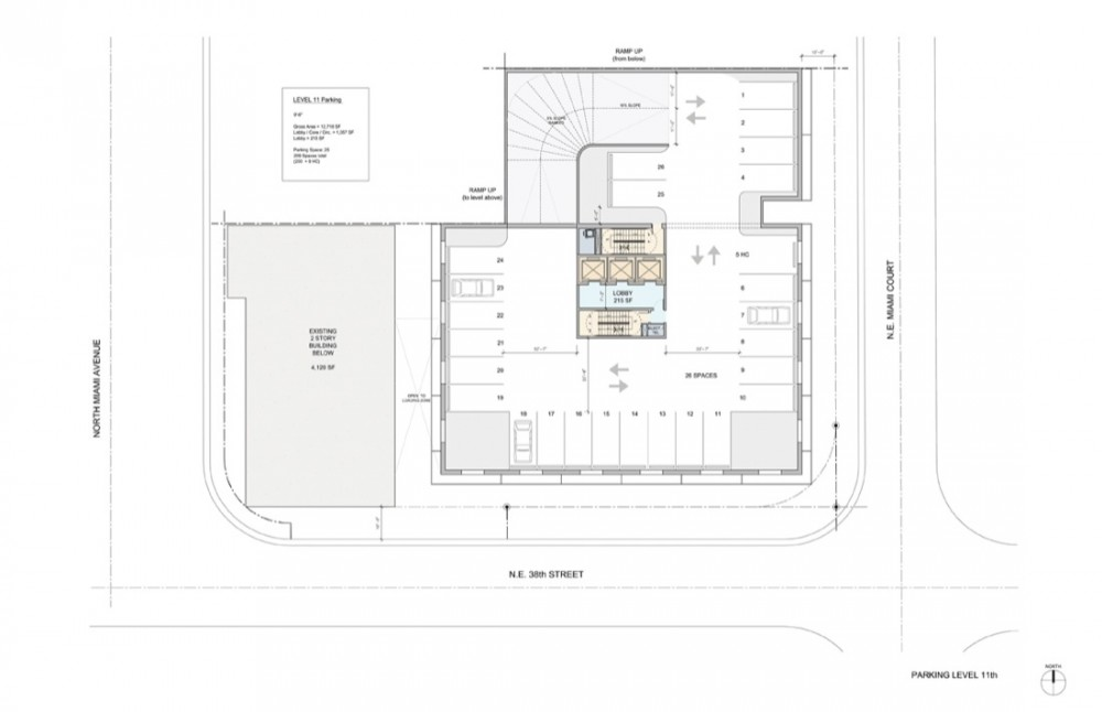 parking eleventh floor plan parking eleventh floor plan