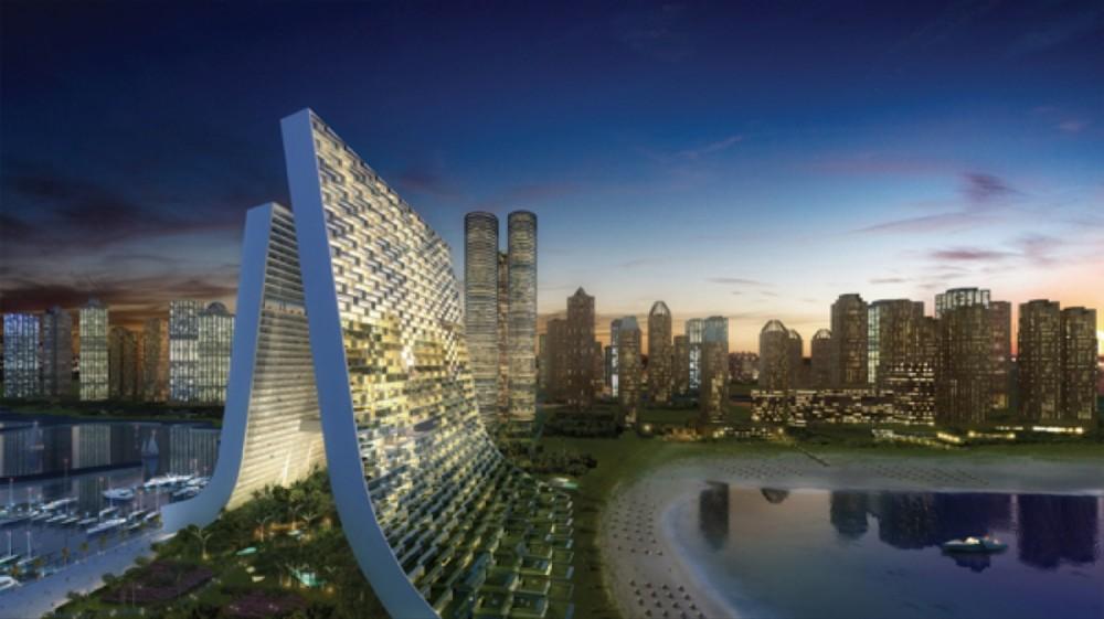 Marina Beach Towers / Oppenheim Architecture + Design Courtesy of Oppenheim Architecture + Design