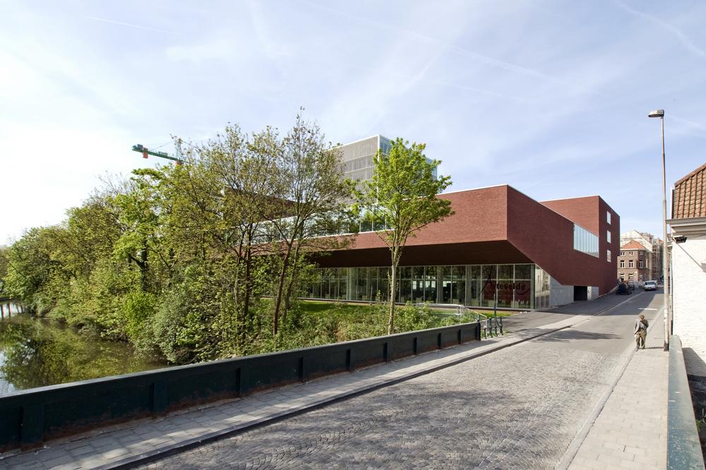 Arteveldehogeschool Campus Kantienberg Ghent / Crepain Binst Architecture © Crepain Binst Architecture