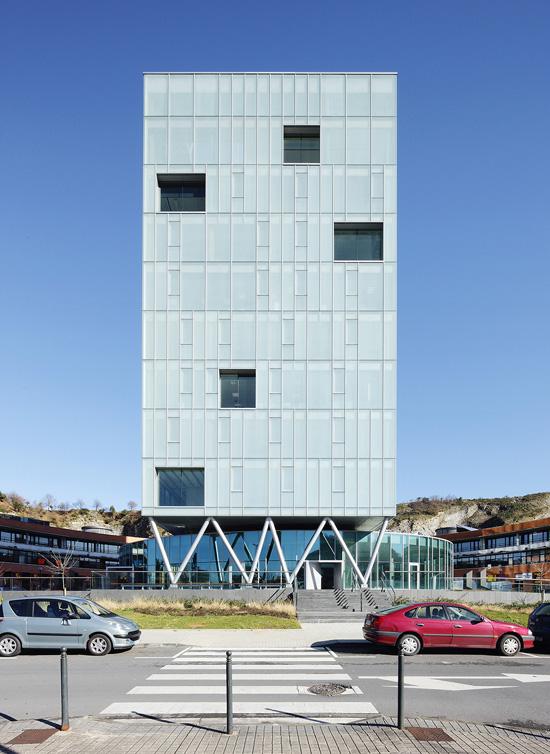 Zaisa Tower - Hoz Fontan Arquitectos © Jose Hevia