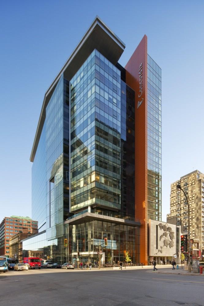 Le Quartier Concordia - John Molson School of Business / KPMB Architects with Fichten Soiferman et Associés Architectes © Tom Arban