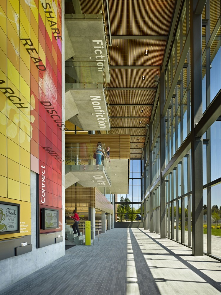 Vancouver Community Library / The Miller Hull Partnership © Benjamin Benschneider