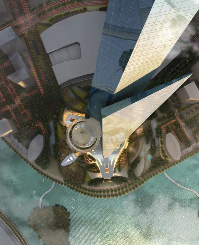 World's Tallest Building (1) © Adrian Smith + Gordon Gill Architecture