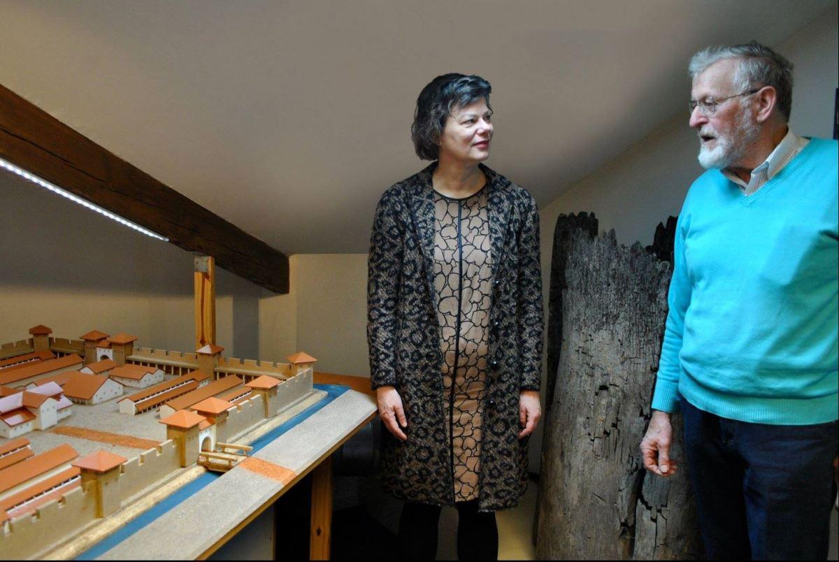 """De opening van de nieuwe tentoonstelling """"Schatten van Vechten - Fectio: Het Romeinse fort en achterland"""""""