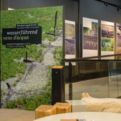 "Eröffnung der Sonderausstellung ""Wasserführend"" im archeoParc Schnalstal<br/>Inaugurazione della mostra ""Vene d'acqua"" nell'archeoParc Val Senales<br/>Exhibition on different irrigation systems at the archeoParc Val Senales<br/><br/>archeoParc Schnalstal<br/>7 July 2019"