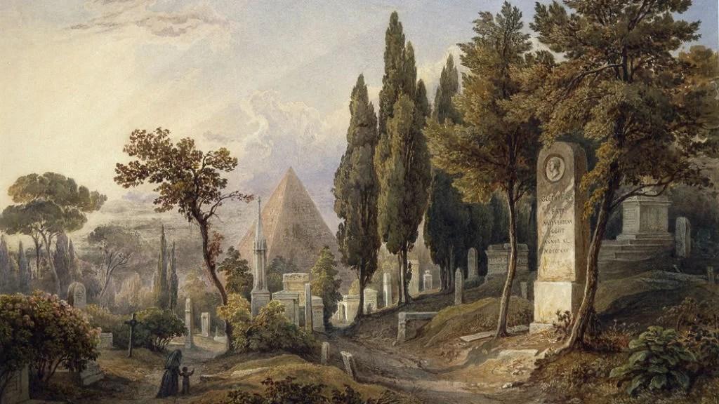 Cimitero acattolico di Roma: da 300 anni all'ombra della Piramide