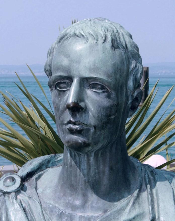 Busto di Catullo, Sirmione.