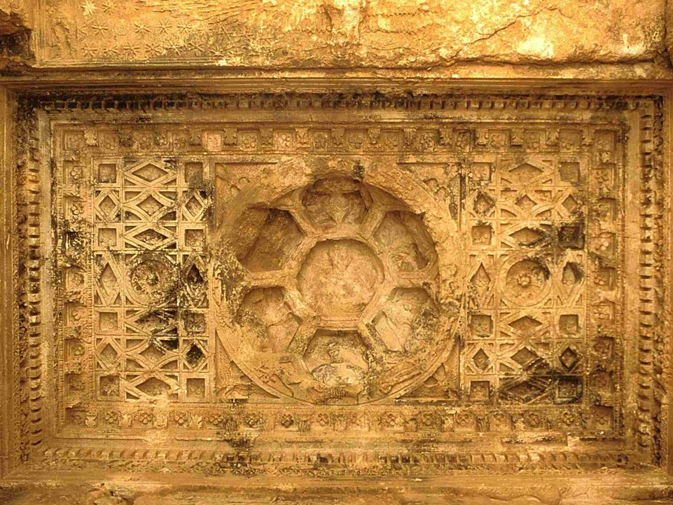 Palmira, Tempio di Bel soffitto