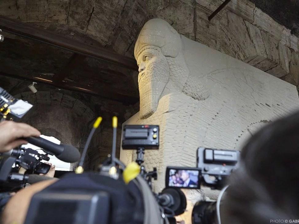 Il grande toro alato di Nimrud
