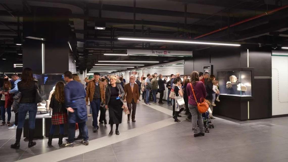 metro C, san giovanni