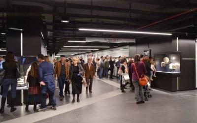 Stazione Metro C San Giovanni: una festa archeologica per tutti i romani