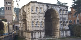Roma, l'Arco di Giano al Foro Boario