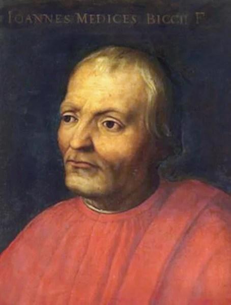 Il mecenate fiorentino Giovanni de' Medici precursore dell'Art Bonus