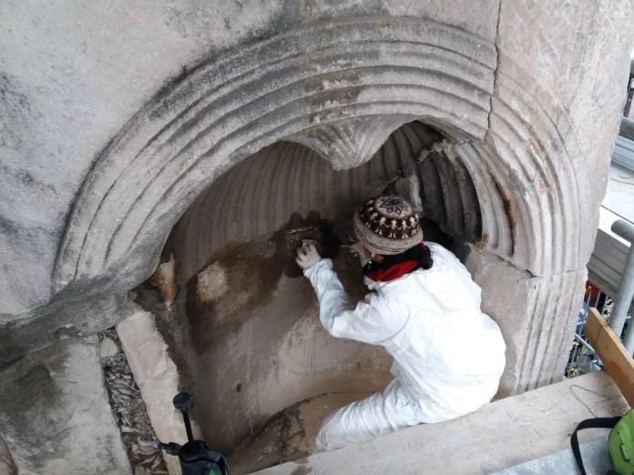 Restauri all'Arco di Giano, Arco di Giano