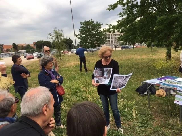 Archeologa Patrizia Gioia Parco di Centocelle