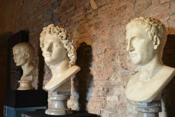 Traiano modelli Cesare Alessandro Nerva