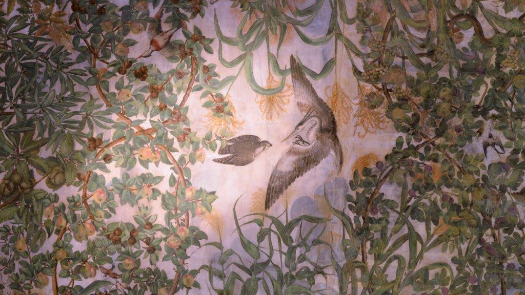 Palazzo Grimani. Particolare soffitto salone