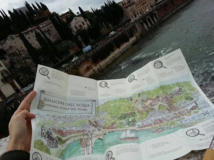 Mappa Verona Minor Hierusalem