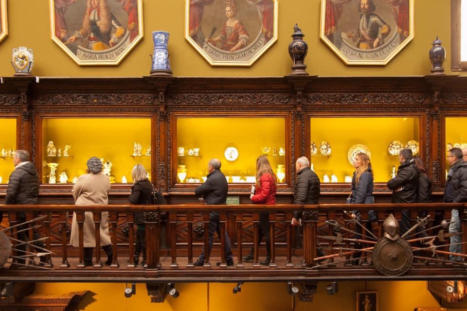 Accogliere ad arte palazzo Filangieri