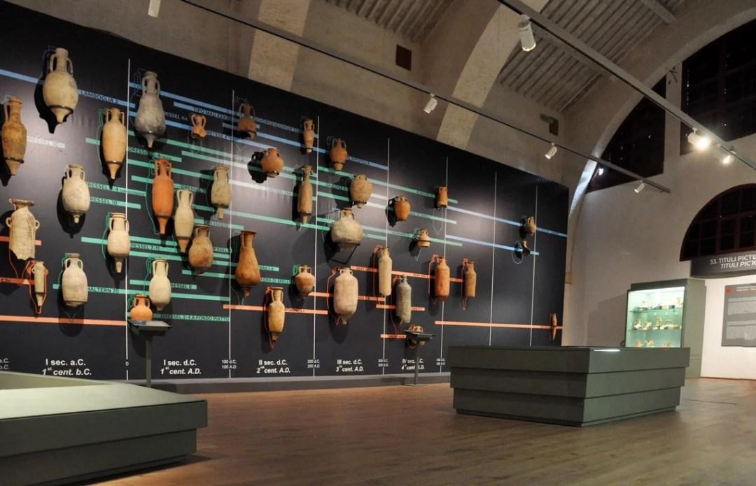 Museo delle navi di Pisa, Sala VI, Commerci