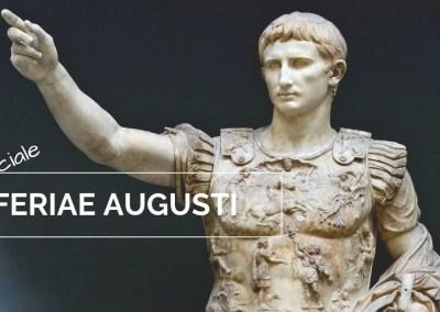 Speciale Archeoparole: le Feriae Augusti