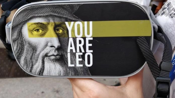 you are Leo, visita guidata