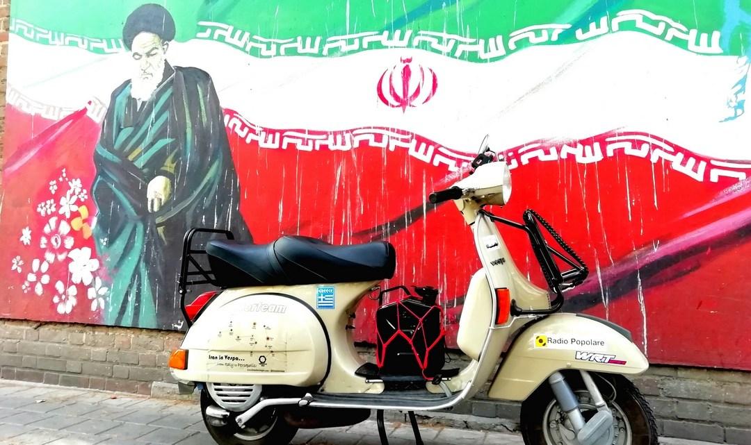 Iran In Vespa. Prima parte