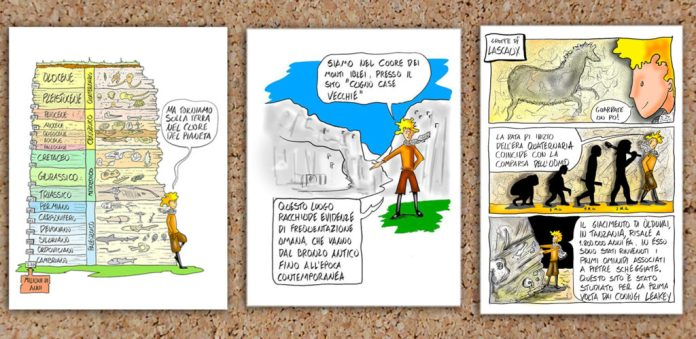 fumetti Aditus in rupe