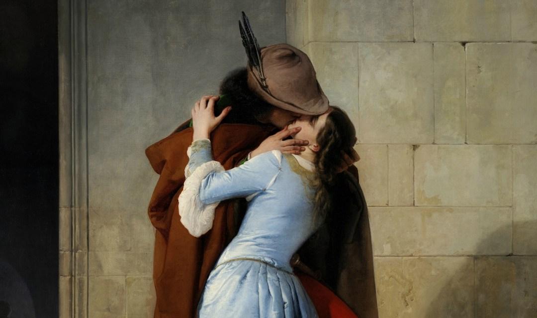 Il Bacio di Hayez ai tempi del Coronavirus