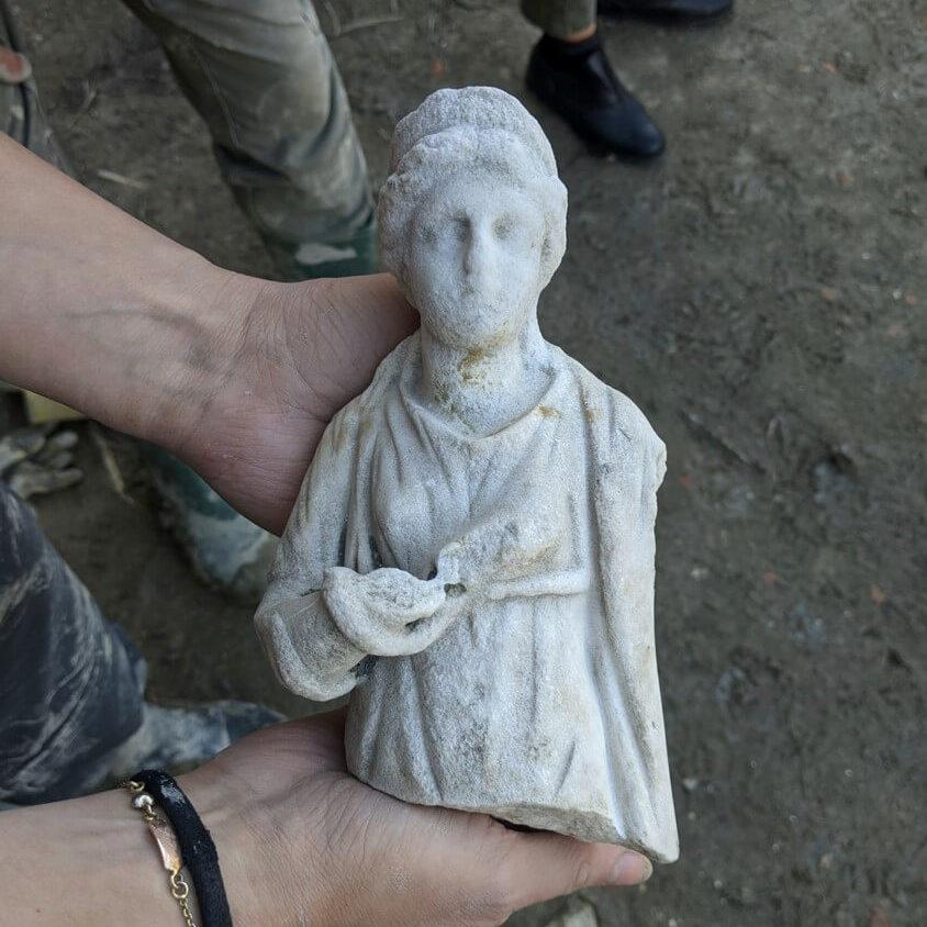 Statua marmo Igiea