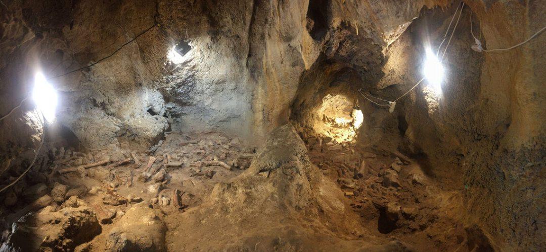 Grotta Guattari interno