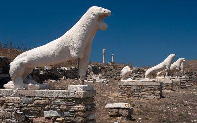 Il mare degli dei: i grandi miti greci e le isole