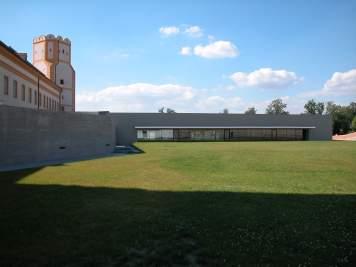 Stift Melk - Gymnasium Außenansicht acw Architekt DI Christian Wöhrer, Wien, Wien, Österreich Foto: Christian Wöhrer