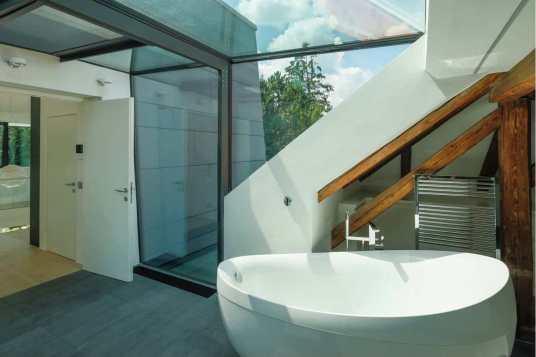Wohnhaus Gaaden NÖ Bad Atelier acw Architekt DI Christian Wöhrer, Wien, Wien, Österreich Foto: Christian Wöhrer