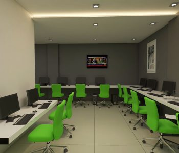 Daily Pakistan Office Interior Design By Archi Cubes