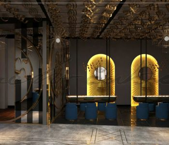 Waseem Jewelers Brand Outlet Interior Designers in Lahore